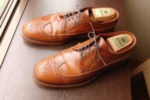 【革靴図鑑 No.3】Alden Whisky Cordovan Wingtip オールデン ウィスキーコードバン ウィングチップ