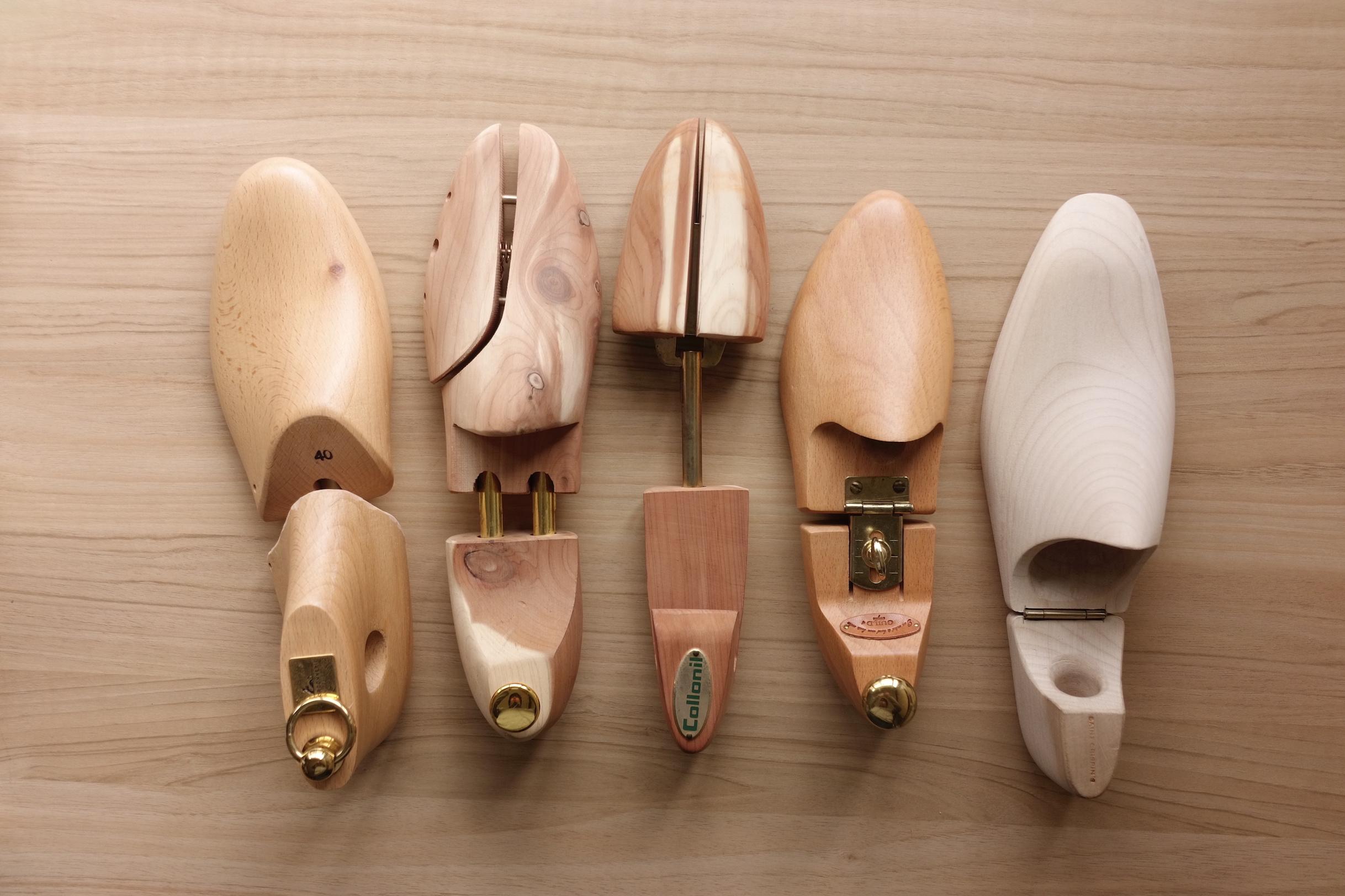 革靴には欠かせないシューキーパーの選び方とおすすめ紹介 , 化ノ革