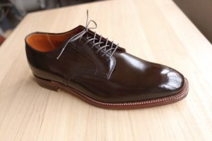 【革靴図鑑 No.6】Alden Cigar Cordovan Plain Toe オールデン シガーコードバン プレーントゥ