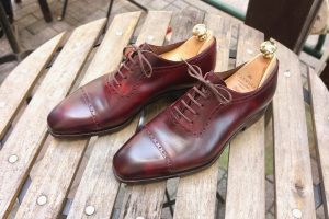 【革靴図鑑 No.18】CARMINA Quarter Brogue カルミナ クォーターブローグ