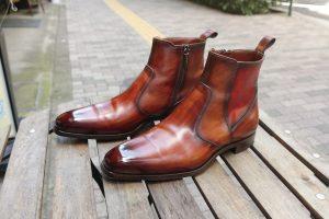 【革靴図鑑 No.23】MAGNANNI Side Zip Boots マグナーニ サイドジップ ブーツ